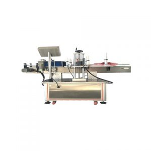 Auto Packaging Top And Bottom Labeling Machine