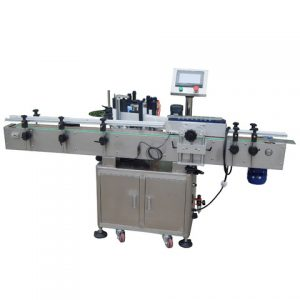 Fruit Tray Top Surface Sticker Labeling Machine
