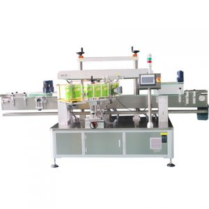 Round Bottle Labeling Machine With Coder For Perfume
