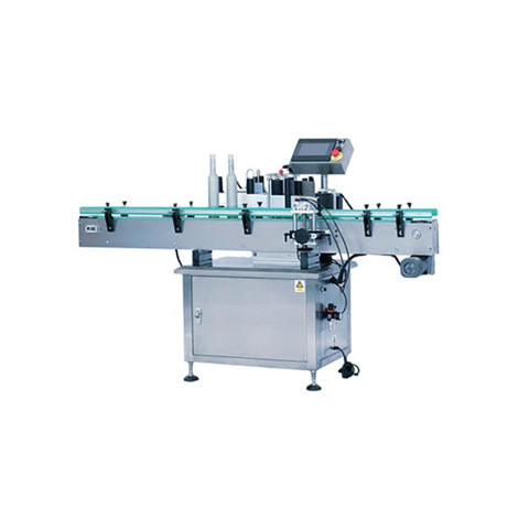 Square bottle labeling machine, Squire Bottle labeler...