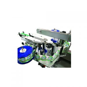 Self Sticker Egg Tray Three Side Labeling Machine