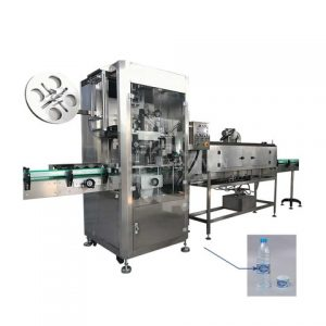 Round Chocolate Syrup Sauce Jar Bottle Labeling Machine