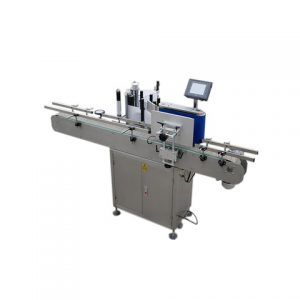 Tabletop Self Adhesive Aluminum Can Labeling Machine