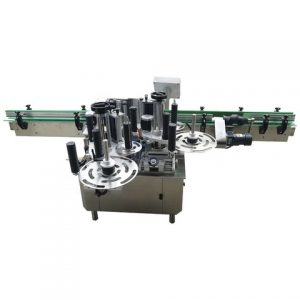 Linear Type Automatic Plastic Bottle Labeling Attaching Machine