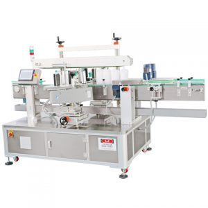 Automatic Three Sides Square Bottle Labeling Machine