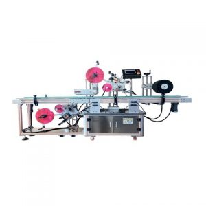 Flat Round Buket Labeling Machine