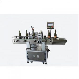 Jam Soy Sauce Bottle Vials Labeler Machine