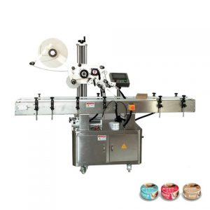 Factory Automatic Top Surface Sticker Label Labeling Machine