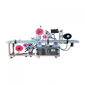 Bottle Cap Top Labeling Machine