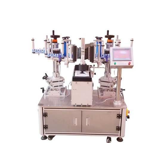 Fast delivery square bottle labeler, table top labeling machine, flat...