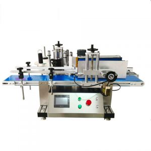 Automatic Round Bottle Cans Sticker Labeling Machine