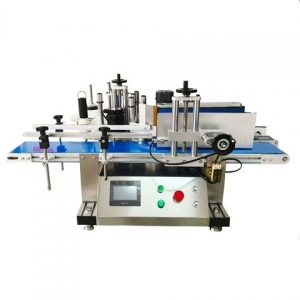 Automatic Canned Honey Double Side Labeling Machine