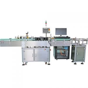 Linear Fixed Point Adhesive Labeling Machine