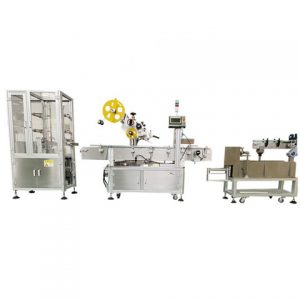 Tag Labeling Machine With Feeder