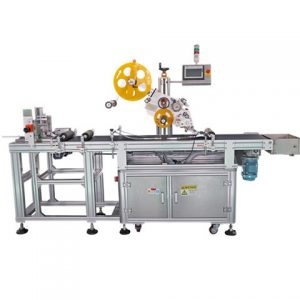 Adhesive Sticker Labeling Machine For Toilet Detergent Bottle