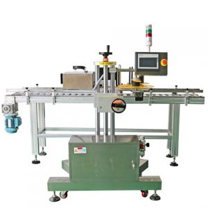 Factory Price Automatic Sticker Tin Can Labelling Machine