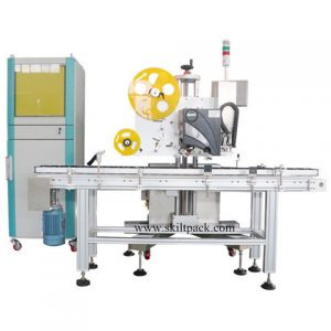 Tin Can Sticker Labeling Machine