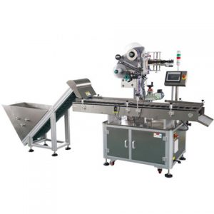 Servo Motor Driven Manufacturing Automatic Wrap Labeling Machine