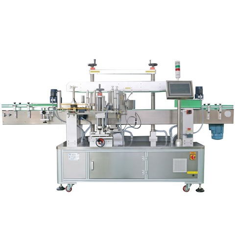 2020 Semi Automatic Round Bottle Labelling Machine Labels...