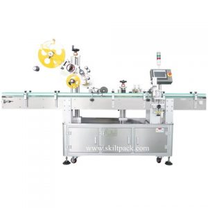 Professional Sticker Clothes Tag Labeling Machine With Feeder