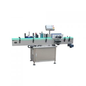 Round Bottle Labeling Machine With Coder For Canned