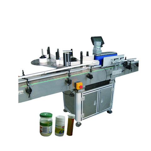 Top and bottom labeling machine for dental floss box-Higee...