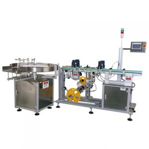 Automatic Tabletop Glass Bottle Labeling Machine