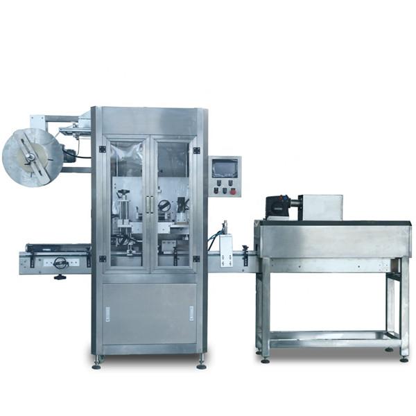 Automatický štítkovací stroj na smršťovací rukávy