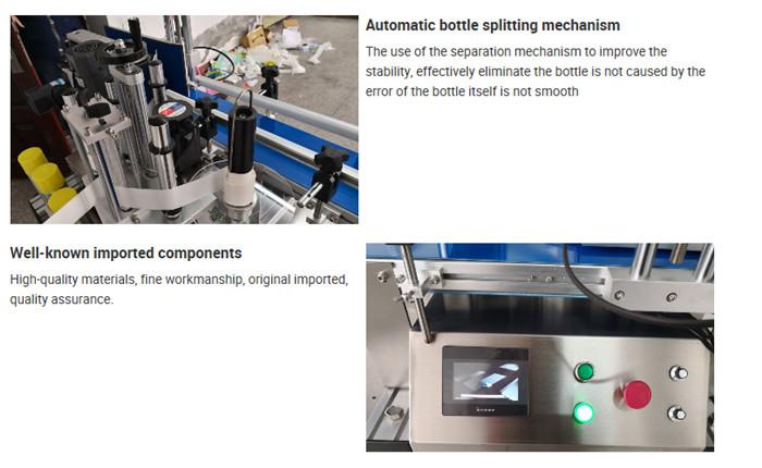Podrobnosti o automatickém stolním značení lahví