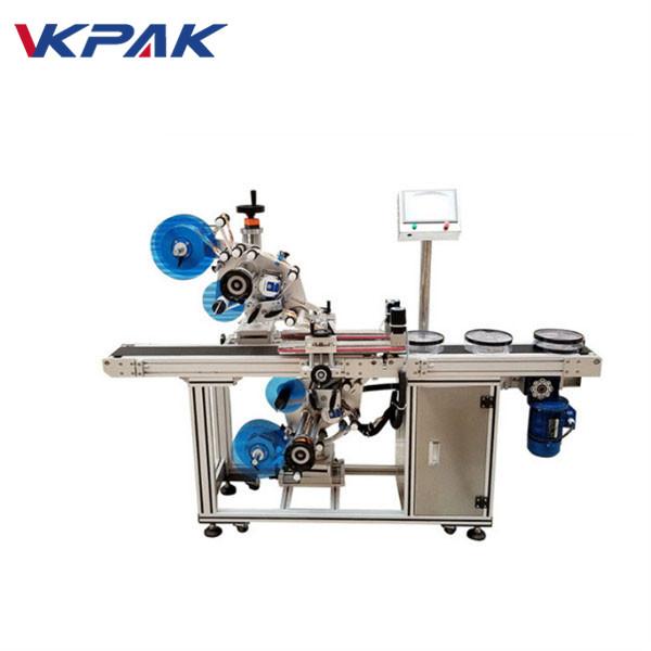 Automatický horní a dolní plochý štítkovací stroj