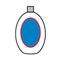 Přední a zadní štítkovač